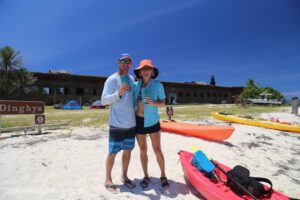 Day 1 in the Dry Tortugas: Diving, snorkeling and exploring the fort