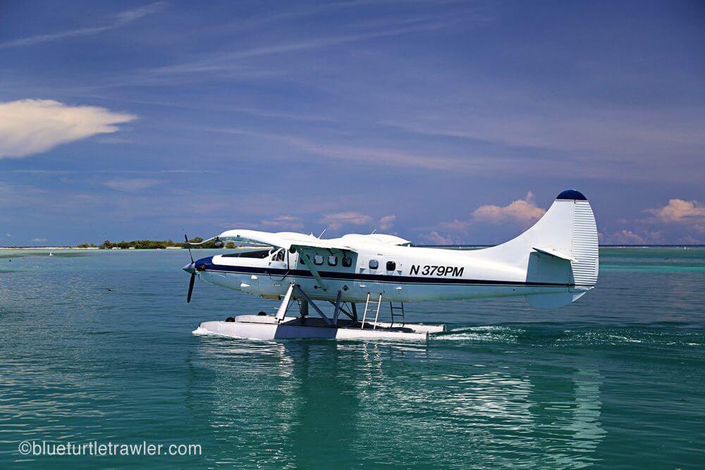 Key West to Dry Tortugas sea plane