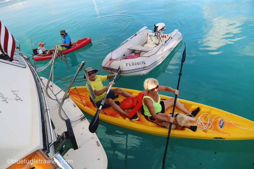 kayaking dry tortugas