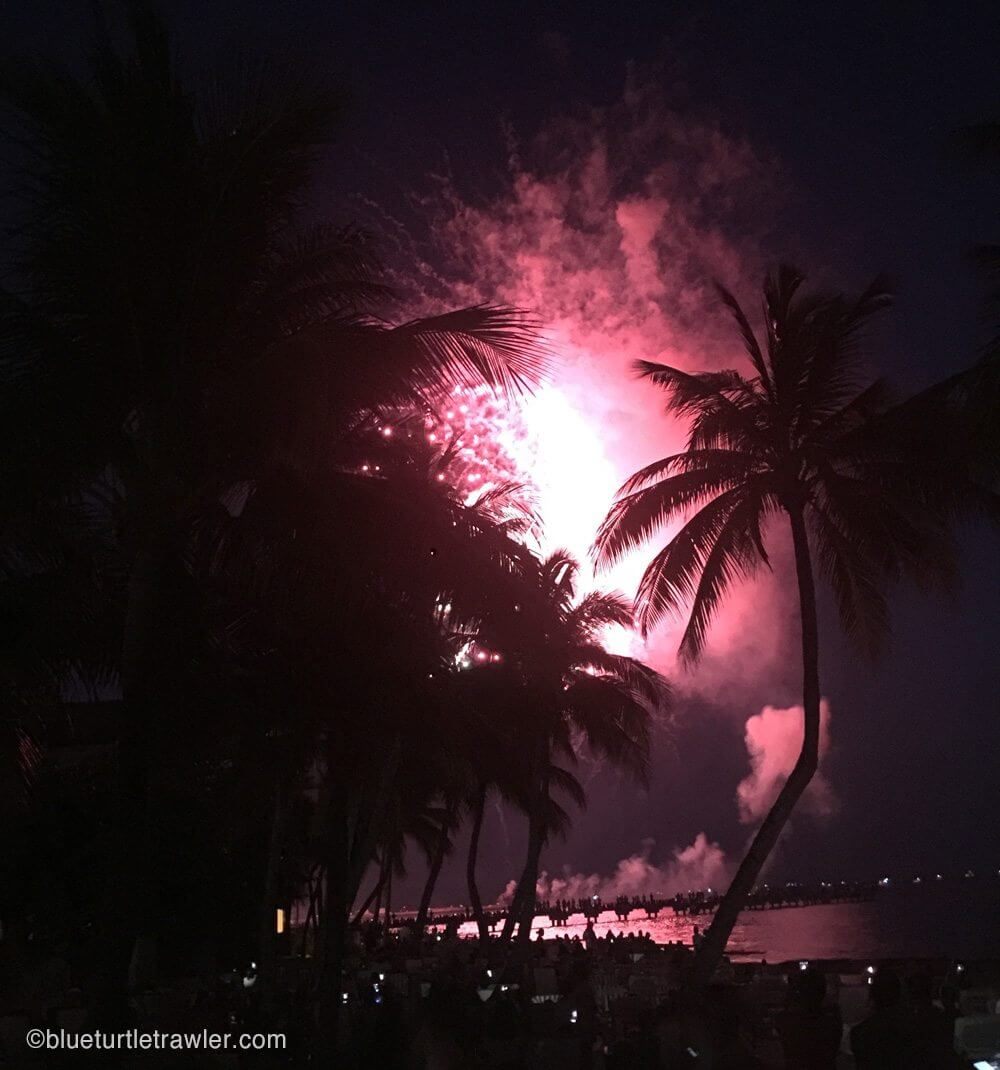 Fireworks at Key West