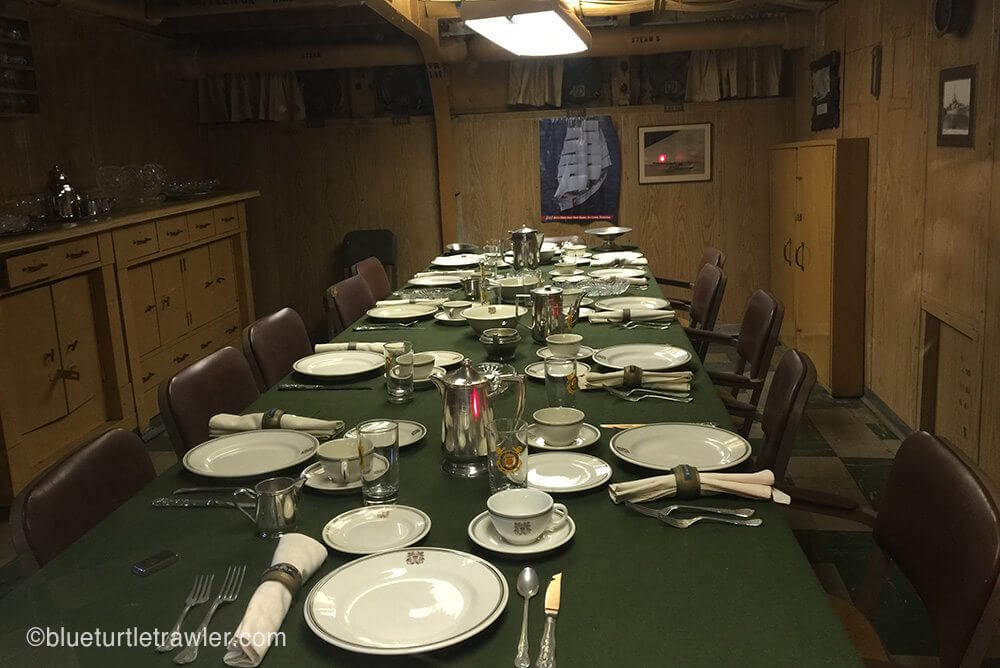 Officers table