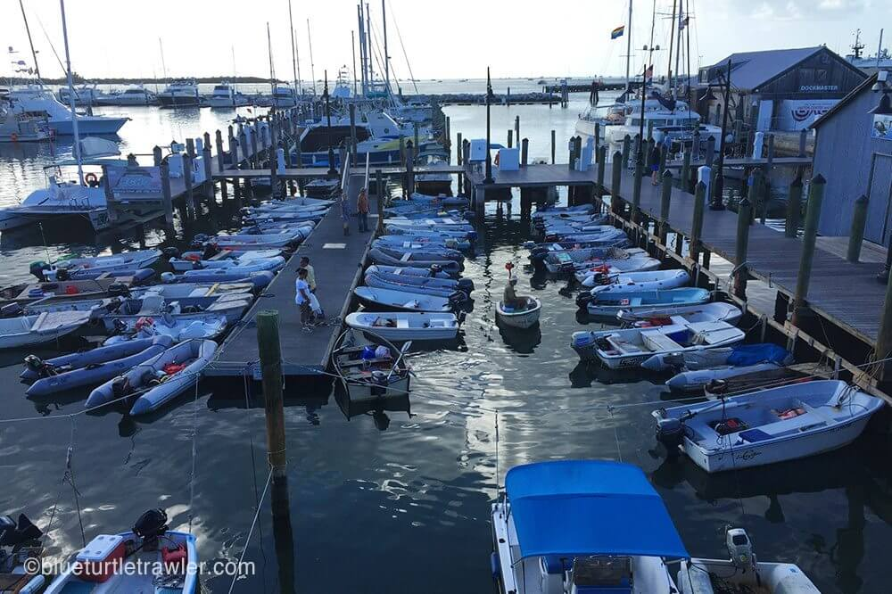Key west dinghy dock