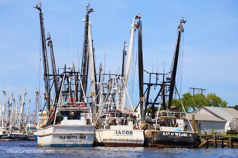 fort myers beach shrimp boats