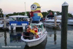 "FMB Christmas Boat Parade & Salty Sam's ""stay-cation"""