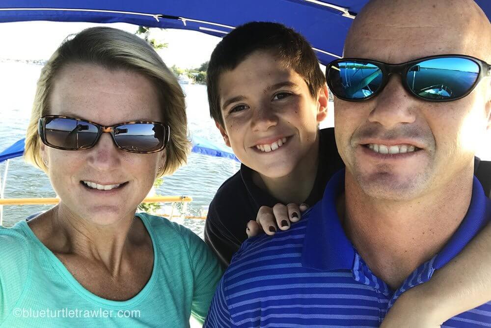 Blue Turtle selfie