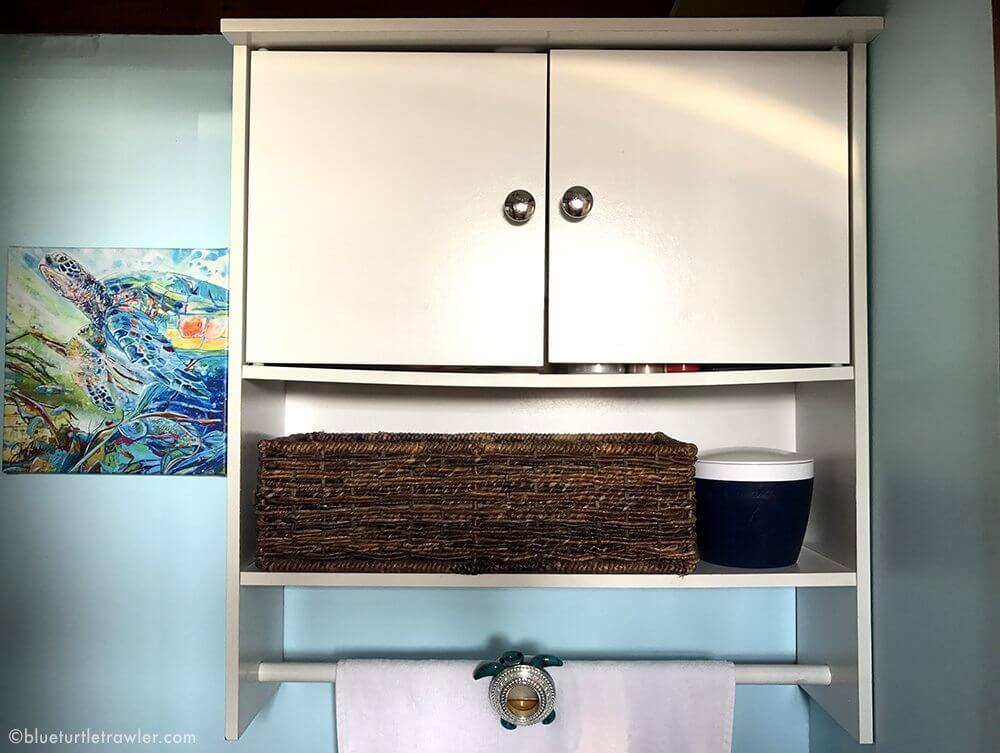 boat interior storage ideas shelving