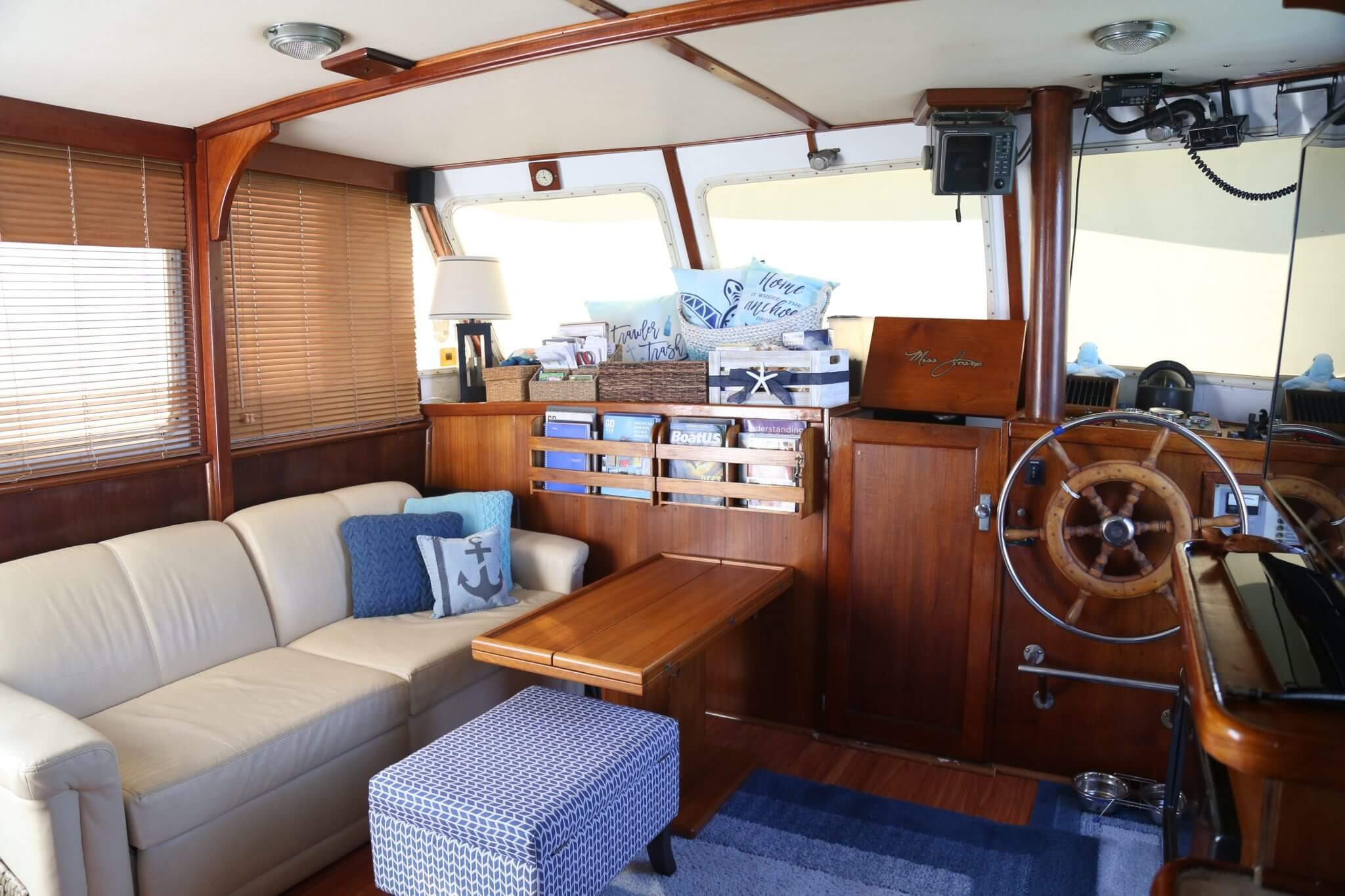 Wonderful Boat Interior Storage Ideas OR Where To Put All Your Stuff?