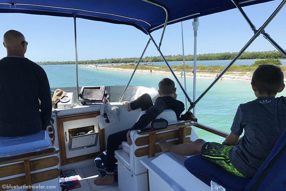 "Spring Break cruising ""stay-cation"" - living-aboard"