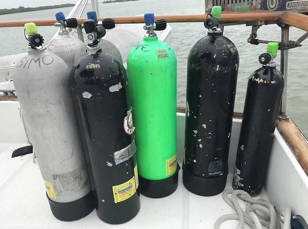 Provisioning for the Dry Tortugas - living-aboard