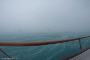 Poor weather conditions continue in the Dry Tortugas
