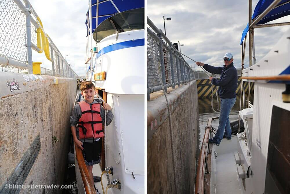 Post Thanksgiving trip to W.P. Franklin Lock and Dam - living-aboard
