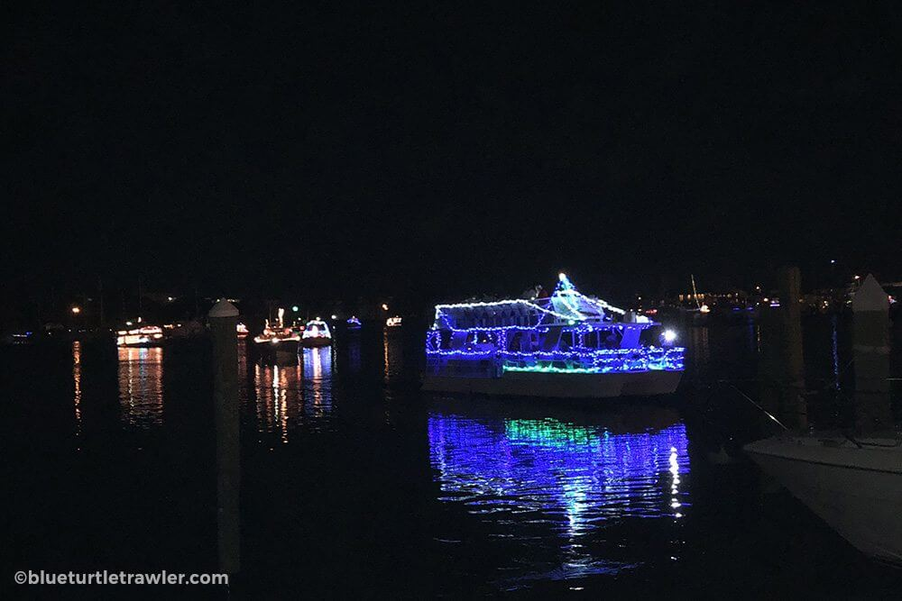 Lights & festivities abound at the annual Fort Myers Beach Christmas Boat Parade - living-aboard