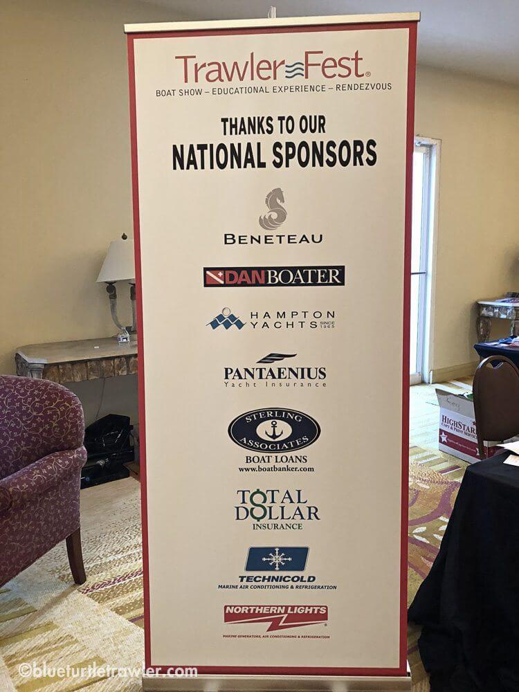 TrawlerFest 2018 sponsors