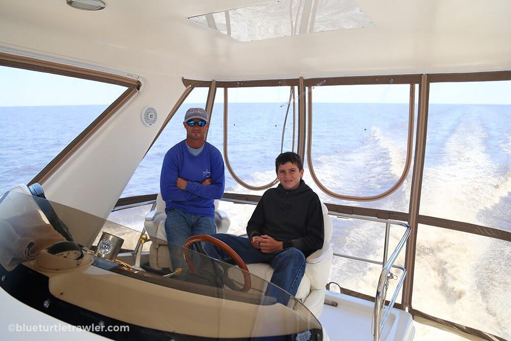 Living Aboard A Boat Is It Minimalism Blue Turtle Trawler