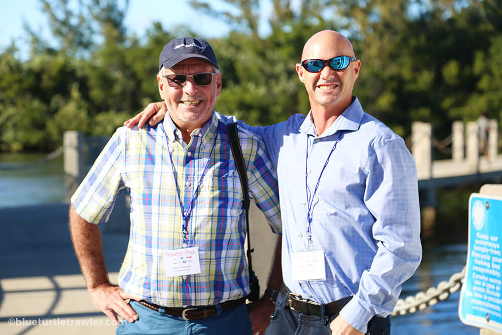 Passagemaker Magazine's Peter Swanson and Randy