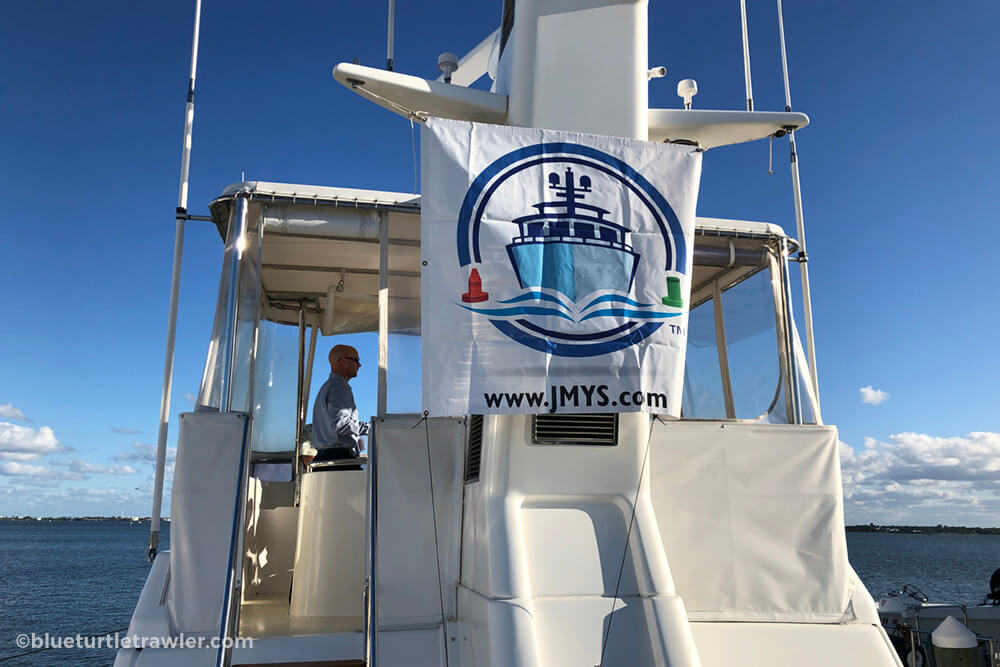 Jeff Merrill Yacht Sales (JMYS) presented this 47' Nordhavn